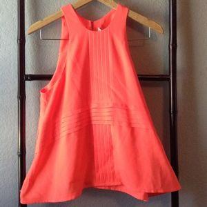 *Cute* Cameo The Label Bright Orange Pleated Top